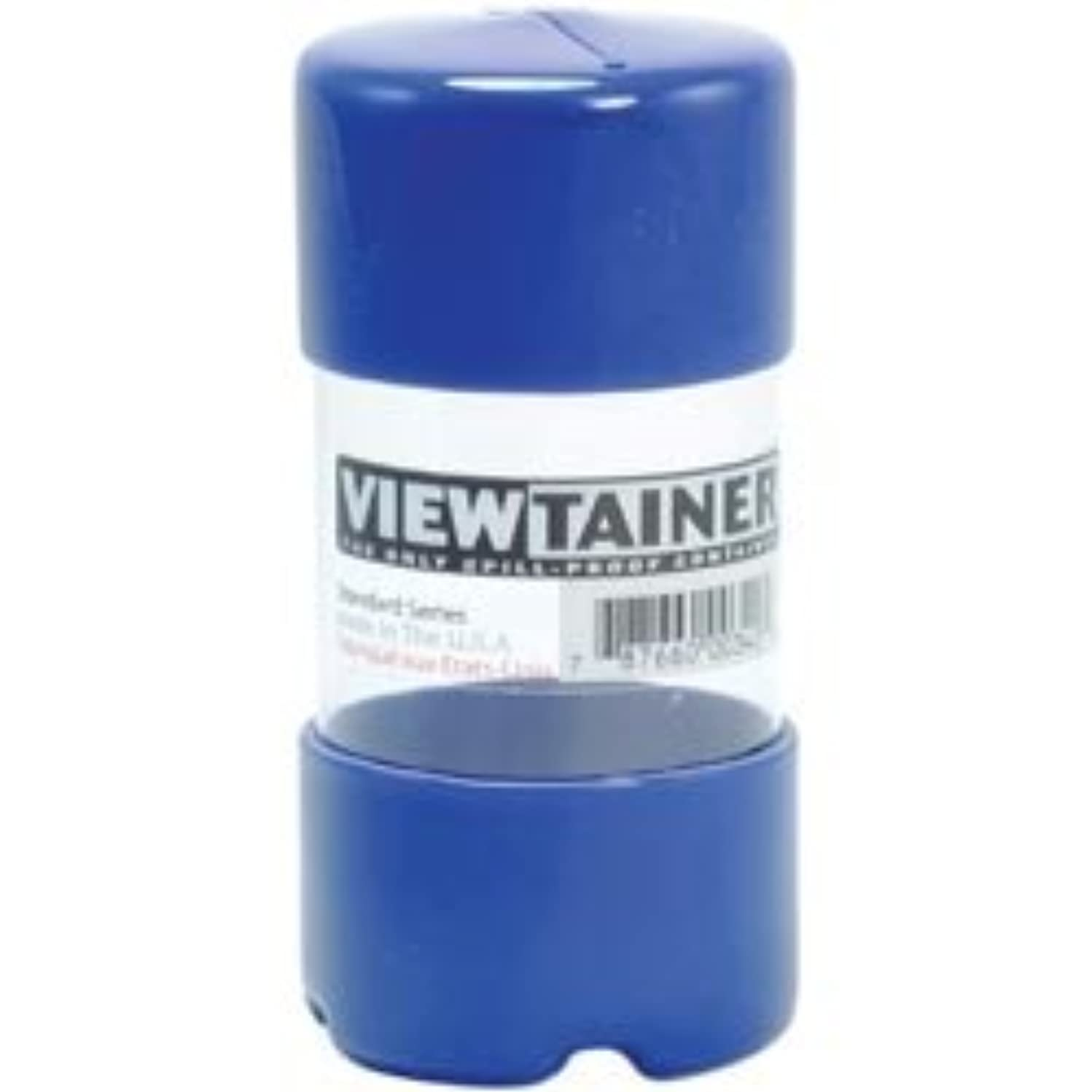 Bulk Buy: Viewtainer (6-Pack) Storage Container 2in. x 4in. Blue CC24-3