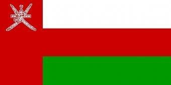 1000 Flags Oman-Flagge, 150 x 90 cm.