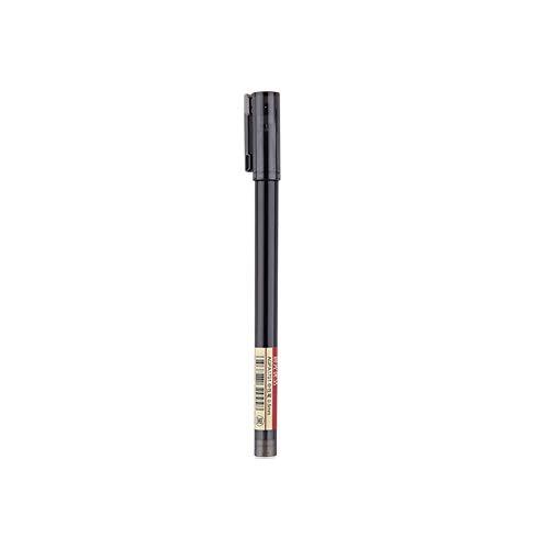 Lihgfw Drücken Sie die Gelfeder 0.5mm einfachen Studenten- Prüfung Briefpapier Kugel Nadel voll Spritze rot, blau und schwarz (Color : Schwarz, Größe : Cap style)