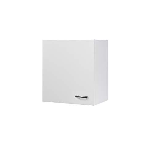Flex-Well Küchen-Hängeschrank UNNA | Oberschrank vielseitig einsetzbar | 1-türig | Breite 50 cm | Weiß