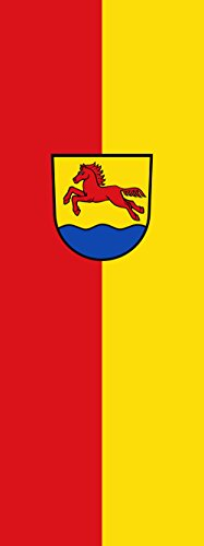 magFlags Drapeau Stutensee | Portrait Flag | 6m² | 400x150cm