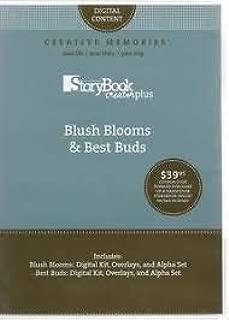 Creative Memories StoryBook Creator Plus: Blush Blooms & Best Buds Digital Kits