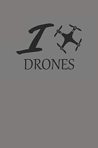 DRONES: DROHNEN NOTIZBUCH Notebook Drone Journal 6x9 lined