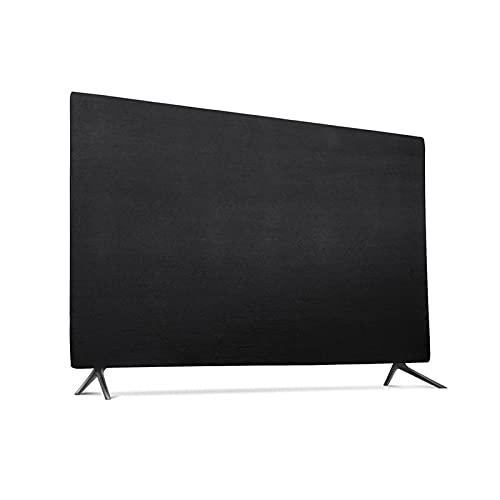 HWNGDI 65 Pulgadas Universal TV Monitor de computadora Cubierta a Prueba de Polvo Cubierta Colgante Tela Elástica Líquido Cristal de Escritorio Cubierta de Polvo Durable