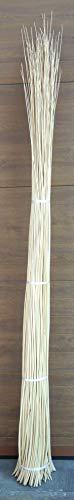 Rieten vlechtwerk ongeschild wit voor het vlechten ornament 225 cm Ø 7/9 kg 5