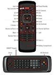 VIZIO 3D XRV1D3 Qwerty Keyboard Remote For Internet TV