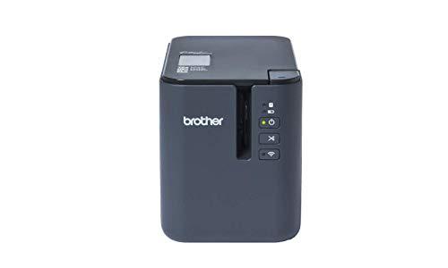 Brother PT-P950NW Professionelles Netzwerk-Beschriftungsgerät (für 3,5 bis 36 mm breite TZe-Schriftbänder, Thermotransfer-Druckverfahren)