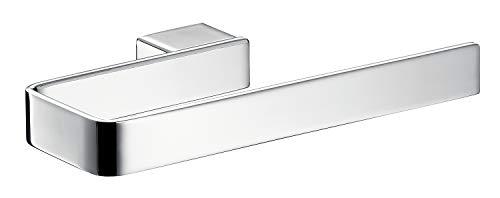 Emco 055500100 Loft Handtuchhalter Chrom, Handtuchhalterung zur Wandmontage, Handtuchständer offen, Länge 210 mm-56000180, Sonstige, One Size