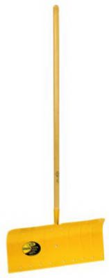 Affordable Yeoman Aluminum 24 in. W Snow Pusher