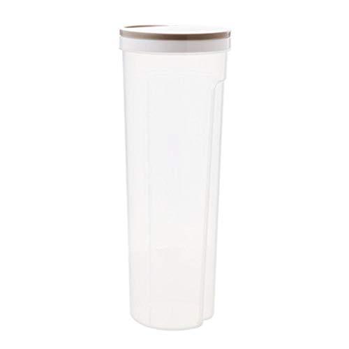 Caja De Contenedores De Almacenamiento De Alimentos Juego De Contenedores Transparentes De Plástico Con Tapa Botella De Almacenamiento De Cocina Tarro Tarro De Grano Caja De Espagueti Caqui