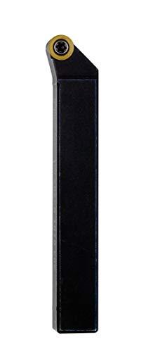 Proxxon Stahlhalter mit Hartmetall-Wendeplatten (abgewinkelt, für Präzisionsdrehmaschine PD 400, inkl. Schrauben + TX Schlüssel) 24562