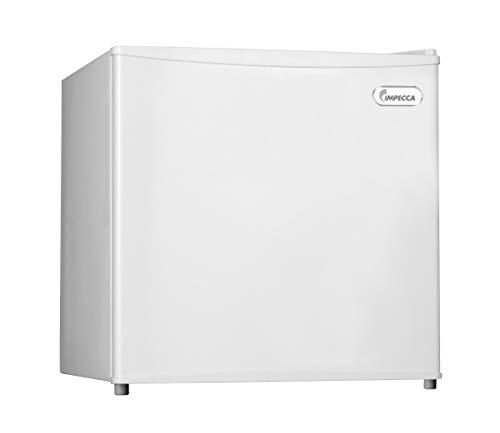 Congelador compacto Impecca de 31 l de refrigeración rápida vertical con estante extraíble, puerta reversible, termostato ajustable,...