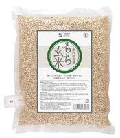 オーサワジャパン 有機もち玄米(国内産) 1kg×8個