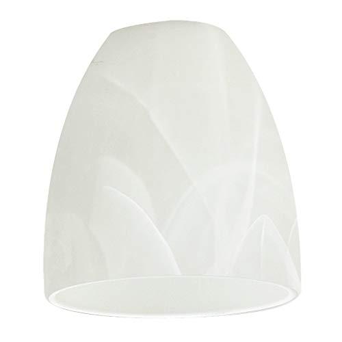 EGLO 90268 Lampenschirm, Glas, weiß