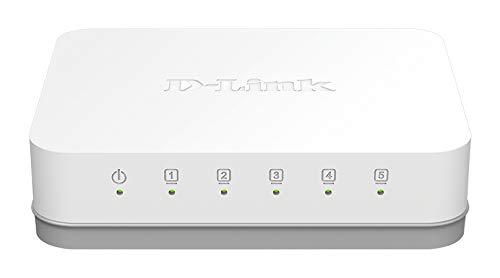 D-Link GO-SW-5G Non-géré Gigabit Ethernet (10/100/1000) Blanc