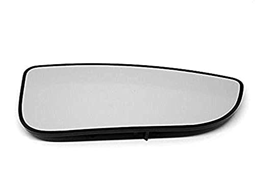 Fits 09-18 Ram Pickup Right Pass Lower Flip Up Tow Mirror Glass w/Rear Holder