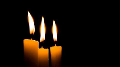 YDPTYANG Rahmenlos DIY Ölgemälde Malen Nach Zahlen Brennende Kerze Für Erwachsene Kinder Gemälde Handgemalt Kit DIY Geschenk Dekoration 40X50cm