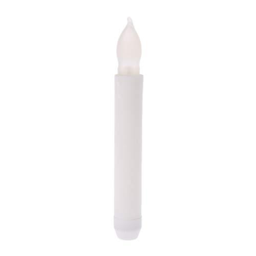 Exing Bougies Chauffe-Plat LED sans Flamme Bougie Chauffe-Plat Fonctionne avec Une Pile de Mariage