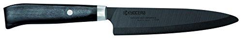 Kyocera JPN-130BK Couteau de Bureau, Céramique, Noir, 1,5 x 3,3 x 25 cm