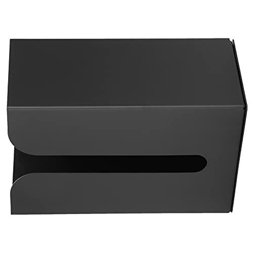 Gaeirt Soporte para Caja de pañuelos, Gran Capacidad de Carga Espacio Material de Aluminio Pared Caja de pañuelos Antióxido Anticorrosión con Tornillos para baños Aseos, cocinas