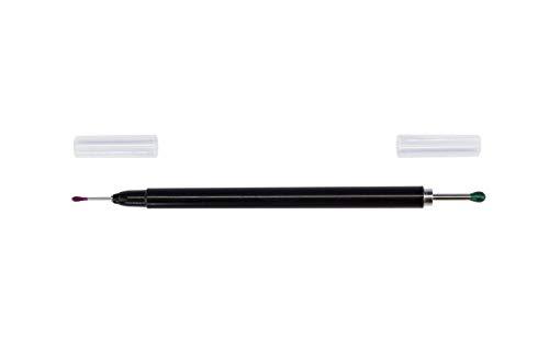 Modelcraft - Herramienta de recogida de doble extremo con puntas de silicona, color negro, 200 mm