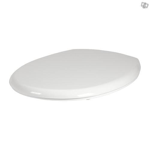 IKEA VALLOXEN SOFT SLOW CLOSE ROND WIT WC TOILET ZITTING NIEUW IN BOX