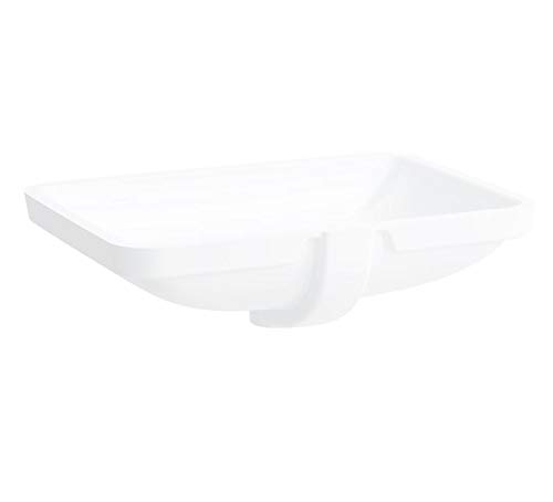 Laufen PRO S Einbauwaschtisch, ohne Hahnloch, mit Überlauf, 645x450, US geschl, weiß, Farbe: Weiß mit LCC