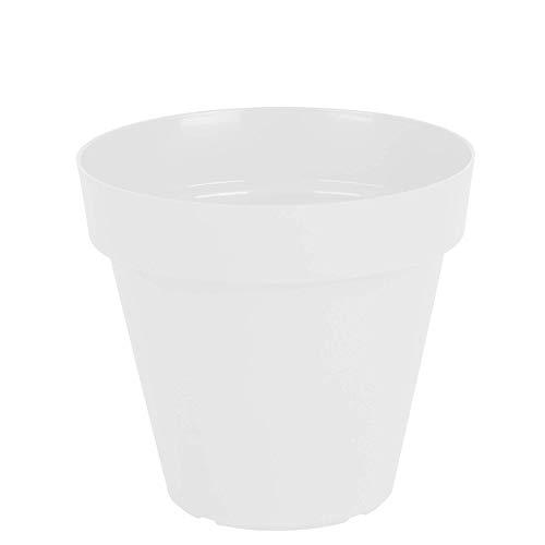 Vasart Sampa Vaso de Flores, Branco, 20x19cm, 1 Unidad