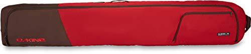 Dakine 190cm Fall Line Double Ski Roller Luggage Bag Dark Red