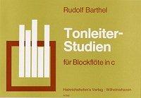 Tonleiter-Studien für Blockflöte in C