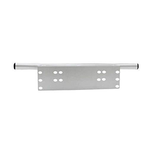 Loriver Universelle Kennzeichenhalterung, Aluminiumlegierung Frontstoßstange Bull Bar Kennzeichen LED-Lichthalterung Halterung für Auto-SUV