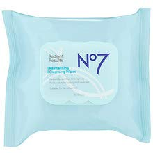 No7 Radiant Results Revitalizing Cleansing Wipes30sheet 5 pack