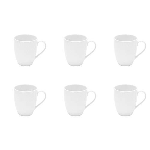 Retsch Arzberg 680096031 Kaffeebecher, Porzellan, 300 ml, H: 10 cm, Ø 8,4 cm (6 Stück)