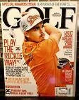 Rickie Fowler autograph Golf Magazine Signed PGA - JSA Certified - Autographed Golf Magazines