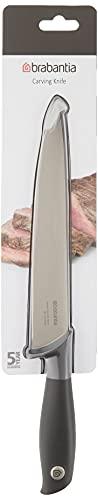 Brabantia Tasty+ Carving Knife, Dark Grey