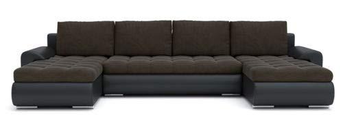 Sofini Ecksofa Tokio III mit Schlaffunktion! Best ECKSOFA! Couch mit Bettkästen! (Cas 567+ Soft 11)