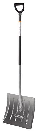 Fiskars Schneeräumer, Blatt und Stiel aus Aluminium, Blattbreite: 43,5 cm, Lange: 153 cm - 2