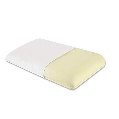 The White Willow Orthopedic Memory Foam Standard Size Neck & Back Support Sleeping Bed Pillow- (22