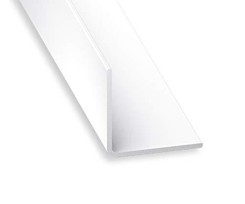 The Hardware Warehouse Cornière PVC Blanc 40 x 40 mm 1 m