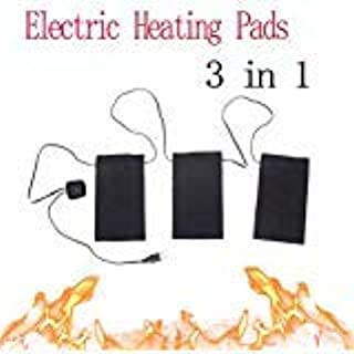 C49E USB Electric Heating Pads Thermal clothes Heated Mobile Warming Gear