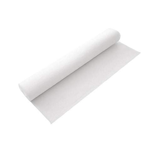 Nicetruc Campana extractora Filtro Anti Filtro de Humo de absorción de Tela no Tejida de Papel Anti del Aceite Humos Pegatinas para 46x1000cm Cocina