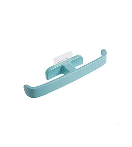 'N/A' Zapatilla De Montaje En Pared Ventosa Zapatero Extraíble Bolsa De Almacenamiento Empalme Zapatero De Pared Impermeable Y Reutilizable(Color:Azul)