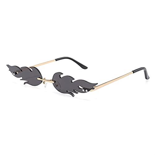 YSJJXTB Gafas de Sol Moda Mujer Forma Gafas de Sol Gato Ojo Sombras de la Marca diseño Hembra Gafas de Sol Gafas UV400 Gafas de Sol (Lenses Color : 02)