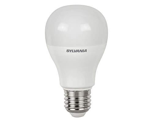 SYLVANIA 26668 Gros vis Baillonnette Flamme-Ampoule LED Toledo Gls V5 FR 806 Lumens 840 Culot E27 SL 4000K, Verre, 10 W, Blanc Froid