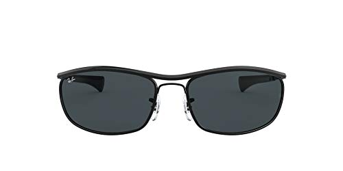 Ray-Ban Olympian I Deluxe RB3119M-002/R5 Gafas, NEGRO, 62 Unisex Adulto