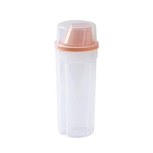 YUMEIGE Caja de almacenamiento de cosméticos Caja de almacenamiento de grano, tanque de almacenamiento de grano, tanque de almacenamiento de grano de gran capacidad, tanque sellado a prueba de humedad