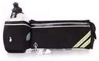 حقيبة رياضية مزودة بفحص لقارورة الماء مزود بفحص لجميع الجوالات والاثبانية وبنوك متعددة الاستخدامات أسود