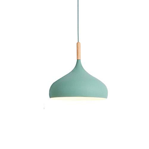 Lámpara colgante Nórdica Moderna Moderna Colgante Simple Light Candy Colors E27 Lámpara...