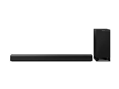 Panasonic SC-HTB900EGK 3.1 Soundbar System mit Dolby Atmos  (Wireless Subwoofer, Google Chromecast Audio, 4K Soundbar, 505 Watt RMS) schwarz
