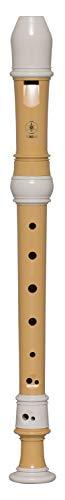 Yamaha YRS-401 Soprano Recorder, Ecodear plastica, diteggiatura tedesca, chiave di C